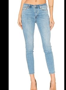 Free People Peyton high rise skinny